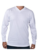 V Neck Long Sleeve <br>  (comfort)