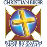 Custom Heat Transfer - Christian Biker - Cross 12x12