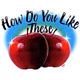 Custom Heat Transfer - How Do U Like These Apples 7x9