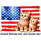 Custom Heat Transfer - Stand Beside Her 10x14