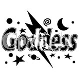 Custom Heat Transfer - Goddess Foil 6x8
