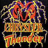 Custom Heat Transfer - Chrysler Thunder 11x11-