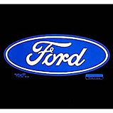 Custom Heat Transfer - Ford Logo 9x13
