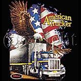 Custom Heat Transfer - American Trucker 12x13