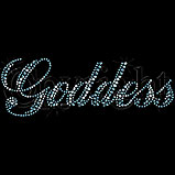 Custom Heat Transfer - Goddess Rhinestone 5x8
