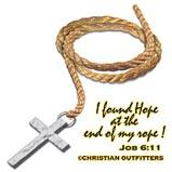 Custom Heat Transfer - Christian Outfitter - Found Hope/End Of Rope 13x13