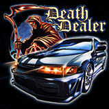 Custom Heat Transfer - Death Dealer-Car 12x13