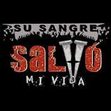 Custom Heat Transfer - Su Sangre Salvo - His Blood 8x11