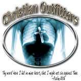 Custom Heat Transfer - Christian Outfitter - Cross/Heart 12x12