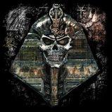 Custom Heat Transfer - Thoth Codex Egyptian Skull