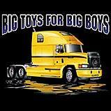 Custom Heat Transfer - Big Toys/Boys - 18 Wheeler 12x12