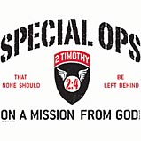 Custom Heat Transfer - Special Ops Christian 11x12