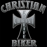 Custom Heat Transfer - Christian Biker 8x10