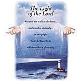 Custom Heat Transfer - Light Of The Lord 11x15