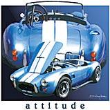 Custom Heat Transfer - Attitude Car 12x12