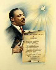 Custom Heat Transfer - Dr. King - 11x17