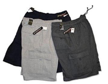 Greystone Fleece Cargo Shorts Style 715