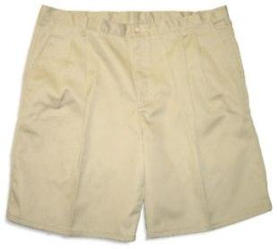 Greystone Twill Pleated Shorts Style 712