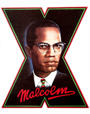 Custom Heat Transfer - Malcolm X - 11x17