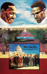 Custom Heat Transfer - Million Man March 11x17