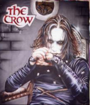 Custom Heat Transfer - The Crow 11 x 14