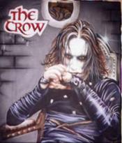 Custom Heat Transfer - The Crow 11 x 14