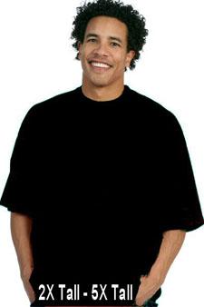 TPC41 Pro Club Short Sleeves Heavyweight T-Shirts - Tall Black