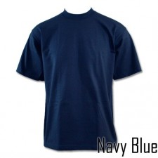 1 New PROCLUB men's blank COMFORT T-shirt PRO CLUB plain Navy Blue