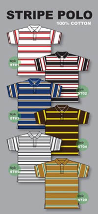 Pro Club Striped Polo