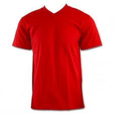 <font color=RED>RED </font>- Pro Club Comfort V Neck