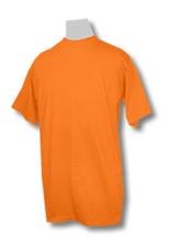 ORANGE Pro Club Short Sleeve Heavyweight T-Shirt