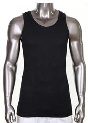 BLACK Pro Club  A-Shirts (Athletic Shirts)