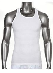 WHITE Pro Club  A-Shirts (Athletic Shirts)