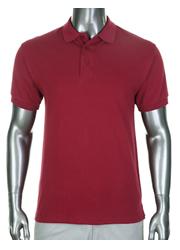 Pro Club Pique Polo Golf T-Shirt Burgundy