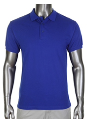 Pro Club Pique Polo Golf T-Shirt Royal Blue