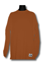 Brown Pro Club Heavyweight Thermal Shirt