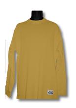 Mustard Pro Club Heavyweight Thermal Shirt