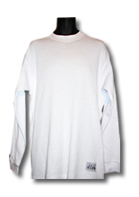 White Pro Club Heavyweight Thermal Shirt