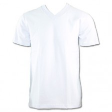 <font color=white>WHITE</font> - Pro Club Comfort V Neck